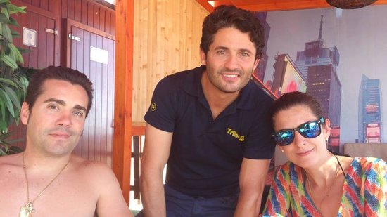 Tribeca Playa: Mi mujer Jaime y yo