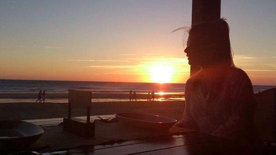 Tribeca Playa: puesta de sol