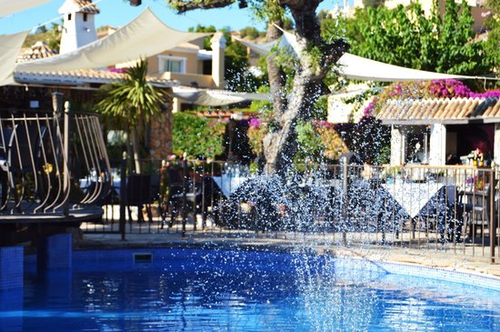 La Finca Restaurant: summer garden