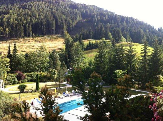 Panorama dalla camera del Kolmhof Hotel