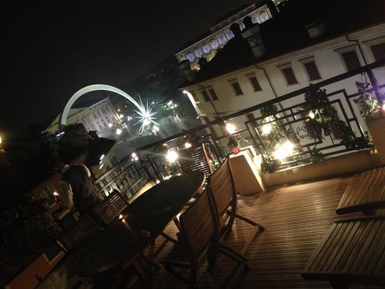 Hotel Bologna : Vista dal terrazzo