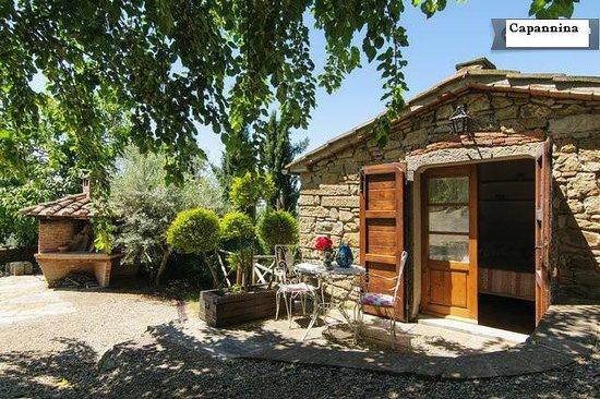 Dolci Colline Holidays Villas -esterno Capannina