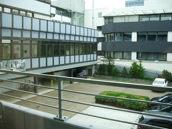 Neotel Stuttgart: View from the balcony