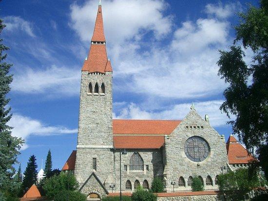 Tampereen Tuomiokirkko: Vista della cattedrale