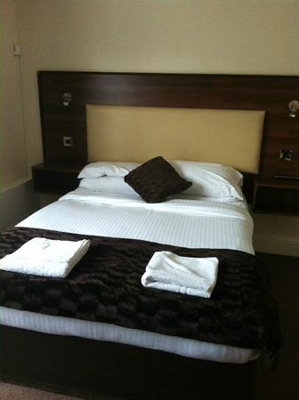 The Kingston Hotel: Bedroom