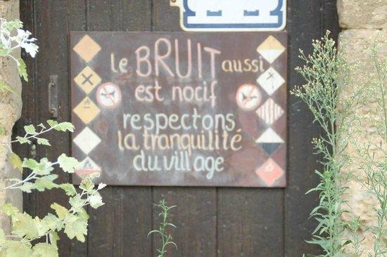Miramas, France: chut !