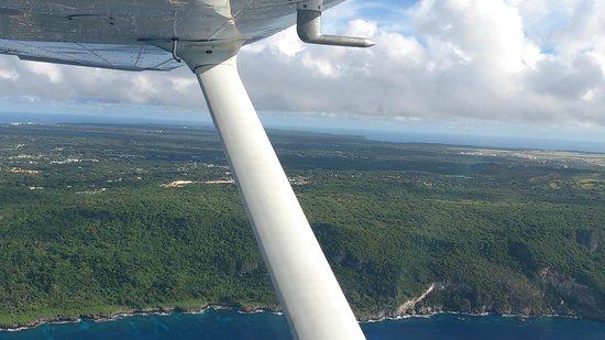 Guam Museum: グアムを空から!!