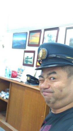 Guam Museum: こんなキャプテンの帽子を被りたい。