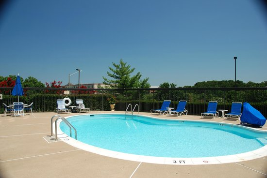 Hampton Inn Manassas: The pool