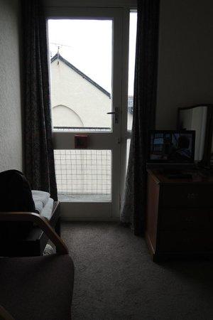 West Point Hotel: fire door