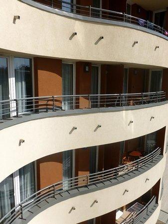 Fraser Residence Budapest: Terrazzi