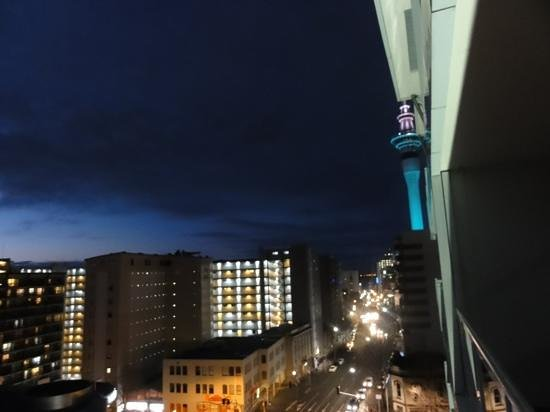 VR Auckland City: view from our balcony