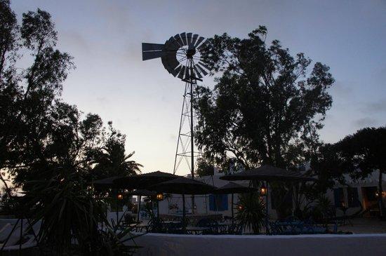 Tangaro Auberge & Spa: Coucher de soleil sur la terrasse