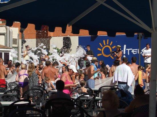Ohtels Belvedere: Festa da espuma