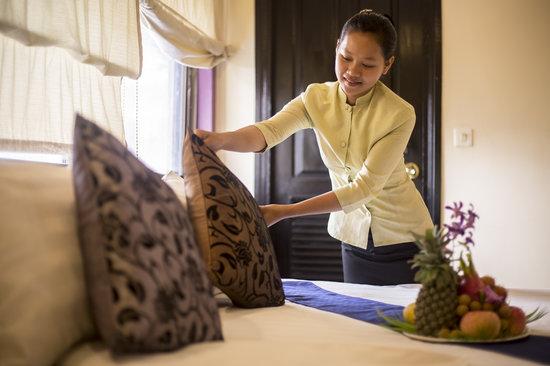 The Villa Siem Reap: Bedroom