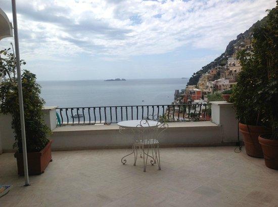 Villa Rosa: the terrace
