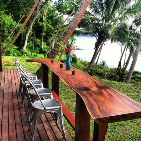 The Remote Resort - Fiji Islands: View from restaurant deck