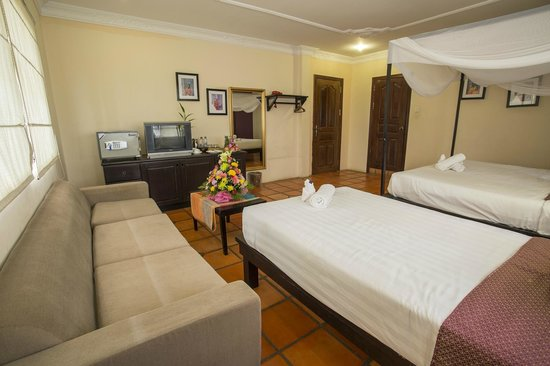 The Villa Siem Reap: Deluxe room