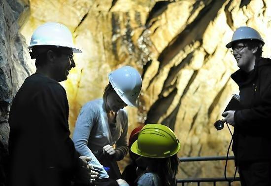 Underground Tours at Glengowla Mines