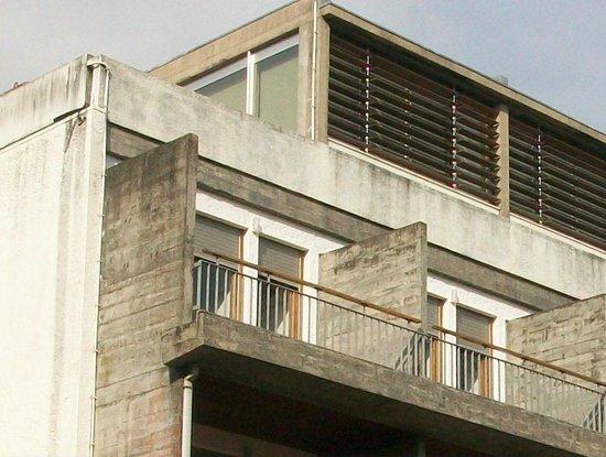 Hotel Parque do Rio: Betonklotz - alles total alt und renovierungsbedürftig