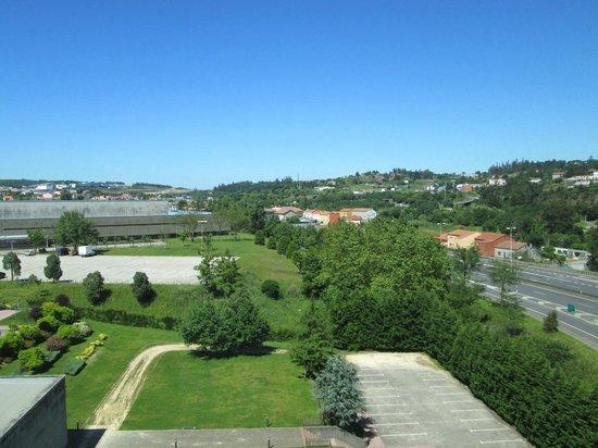 Eurostars San Lázaro: Vista da janela na direcção Este
