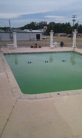Days Inn Natchez: piscine impraticable