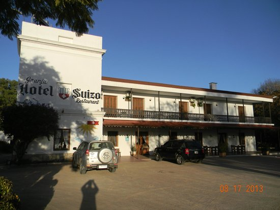 Granja Hotel Suizo : Frente del Hotel