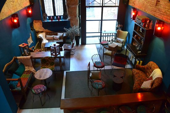 DEGVSTA restaurant: Zona LOUNGE