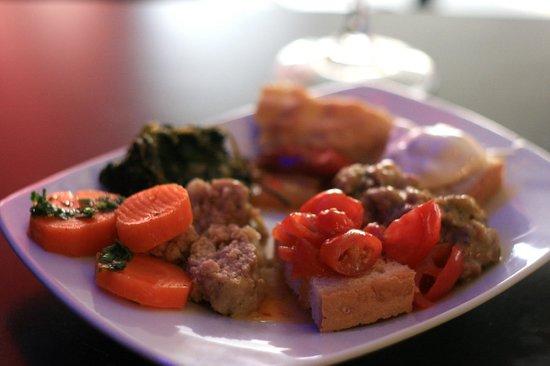 Plaza Cafe Bistrot: Il mio piattino per l'aperitivo della sera