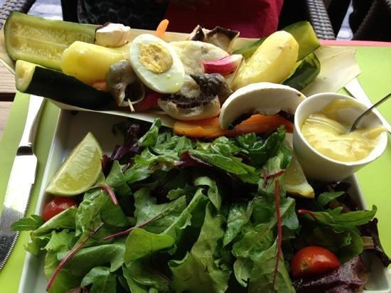 A Cote - Restaurant Pierrade : aïoli