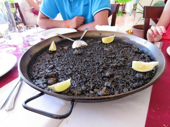 El Cantal Restaurante: Arroz negro