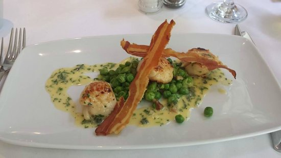 Finbarr's Restaurant: Scallops Starter