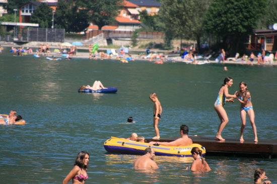 Camping Darna: the lake