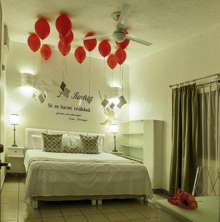 Casa Domingo Hotel Petit : Habitación Pasión para festejo especial