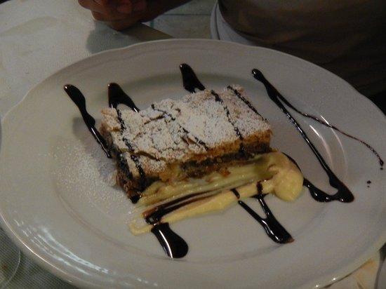 Ristorante Pizzeria Da Ely : la torta
