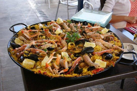 Bar Safari: paella