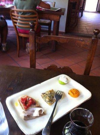 Osteria Candalla: antipasto dell'osteria