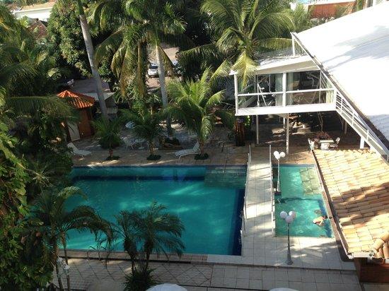 Nacional Palace Hotel: Vista para piscina!!