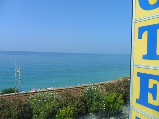 Hotel Marina Blu: vista mare dalla stanza