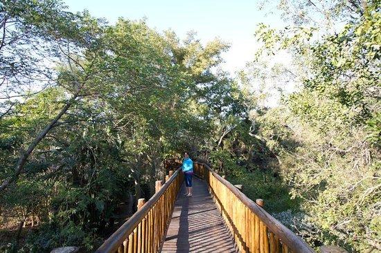 Protea Hotel Kruger Gate: Passerelle