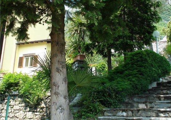 Dependence del Parco: Es gibt 30.000 qm sehr schönen Park zum Hotel!