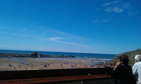 Life's a Beach: Great view from the terrace.