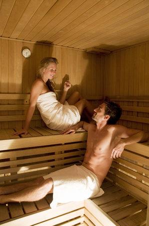 Hotel Sasso Rosso: Sauna
