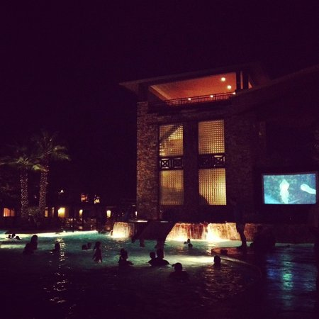 The Woodlands Resort & Conference Center : Dive in movie at the pool