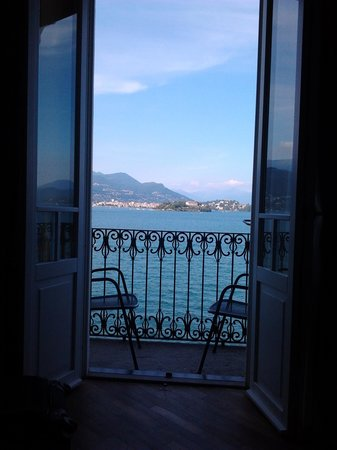 Albergo Ristorante Verbano : vue de la chambre