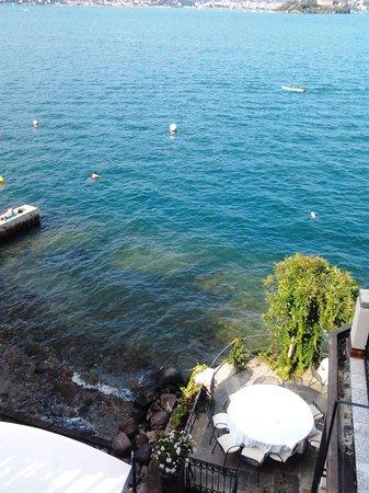 Albergo Ristorante Verbano : lac vue de la chambre