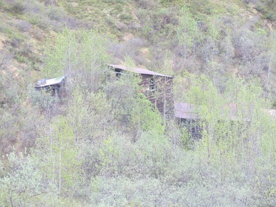 Skyline Lodge: Old abandoned gold mine site.