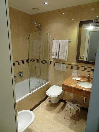 Hotel San Gallo Palace : Badezimmer