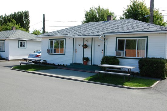 Somass Motel & RV: vue du bungalow