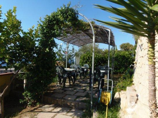 Casa Galez: piccoa area relax